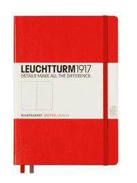 """Anteckningsbok """"Bullet Journal"""" Leuchtturm A5 prickad röd"""