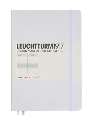 Anteckningsbok Leuchtturm1917 A5 linjerad vit