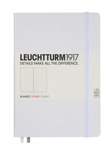 Anteckningsbok Leuchtturm1917 A5 olinjerad vit