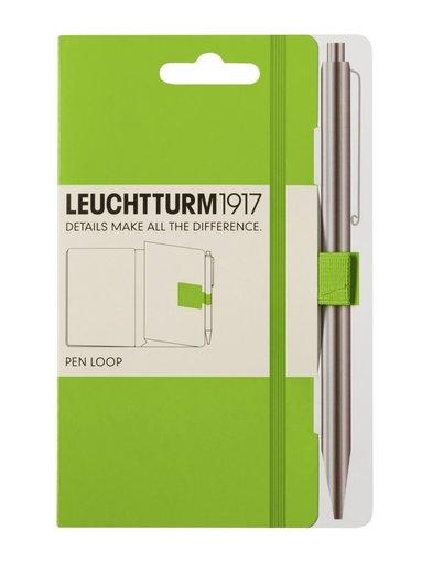 Pennhållare Leuchtturm Pen Loop limegrön
