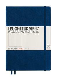"""Anteckningsbok A5 Leuchtturm1917 """"Bullet Journal"""" mörkblå"""