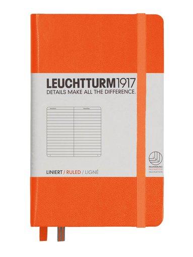 Anteckningsbok Leuchtturm1917 A6 linjerad orange