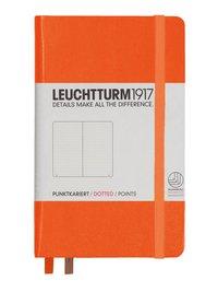 Anteckningsbok Leuchtturm1917 A6 olinjerad orange