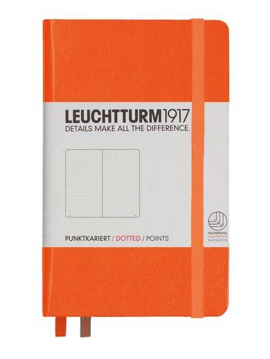 Anteckningsbok Leuchtturm A6 olinjerad orange