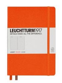 Anteckningsbok Leuchtturm1917 A5 linjerad orange