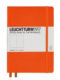Anteckningsbok Leuchtturm1917 A5 olinjerad orange
