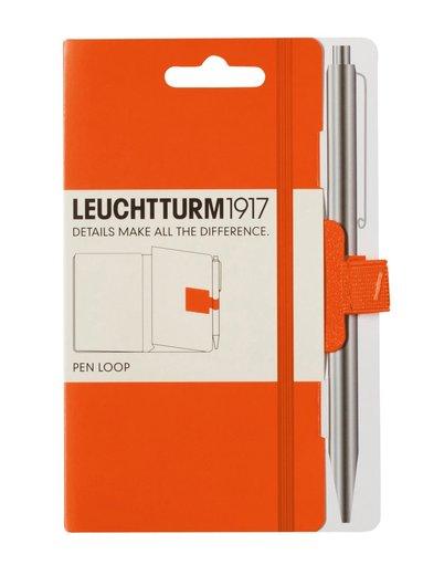 Pennhållare Leuchtturm Pen Loop orange