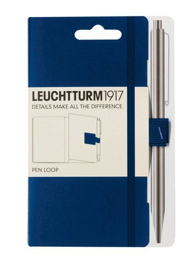 Pennhållare Leuchtturm1917 Pen Loop mörkblå