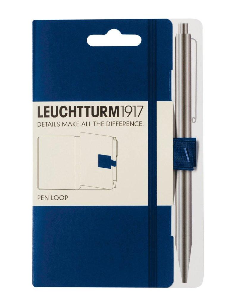 Pennhållare Leuchtturm1917 Pen Loop mörkblå 1