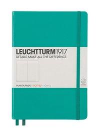 "Anteckningsbok Leuchtturm1917 ""Bullet Journal"" A5 prickad smaragdgrön"