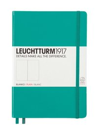 Anteckningsbok Leuchtturm1917 A5 olinjerad smaragdgrön