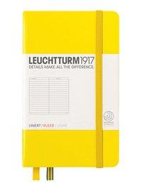 Anteckningsbok A6 Leuchtturm1917 linjerad gul