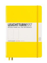 """Anteckningsbok A5 Leuchtturm1917 """"Bullet Journal"""" gul"""