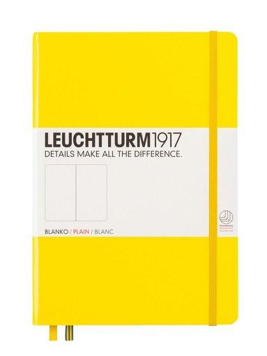 Anteckningsbok Leuchtturm A5 olinjerad gul