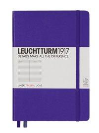 Anteckningsbok Leuchtturm1917 A5 linjerad lila