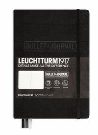 """Anteckningsbok Leuchtturm1917 """"Bullet Journal"""" A5 svart"""