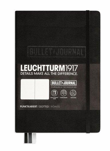 """Anteckningsbok A5 Leuchtturm1917 """"Bullet Journal"""" svart 1"""