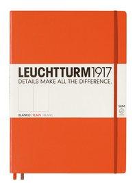 Anteckningsbok Leuchtturm A4+ Slim olinjerad orange
