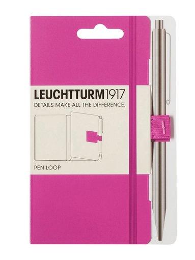 Pennhållare Leuchtturm Pen Loop rosa