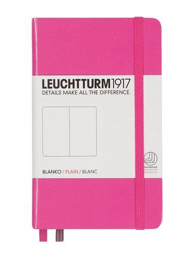 Anteckningsbok Leuchtturm A6 olinjerad rosa