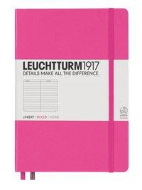 Anteckningsbok Leuchtturm A5 linjerad rosa