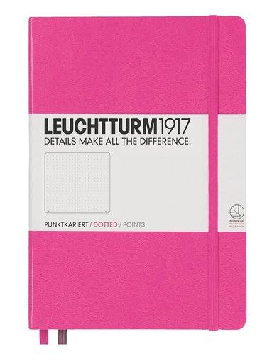 """Anteckningsbok """"Bullet Journal"""" Leuchtturm A5 prickad rosa"""