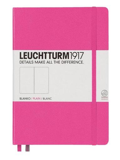 Anteckningsbok Leuchtturm A5 olinjerad rosa