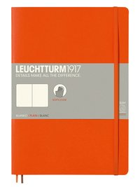 Anteckningsbok Leuchtturm1917 B5 olinjerad mjuk orange