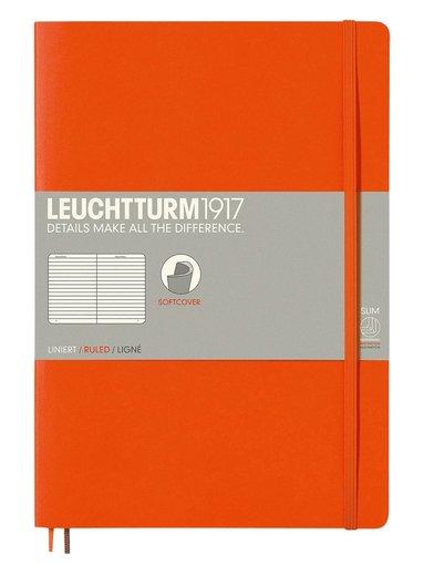 Anteckningsbok Leuchtturm B5 linjerad mjuk orange