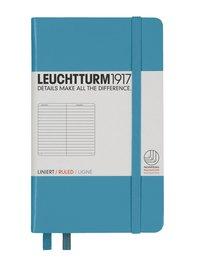 Anteckningsbok Leuchtturm A6 linjerad nordisk blå