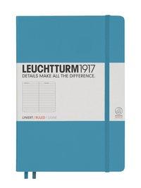 Anteckningsbok Leuchtturm A5 linjerad nordisk blå