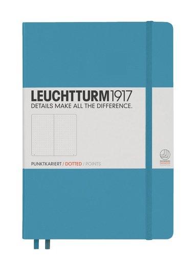 Anteckningsbok Leuchtturm A5 prickad nordisk blå
