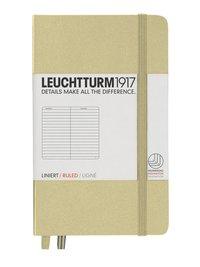 Anteckningsbok Leuchtturm1917 A6 linjerad sand