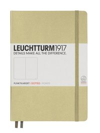 """Anteckningsbok """"Bullet Journal"""" Leuchtturm A5 prickad sand"""