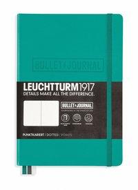 "Anteckningsbok Leuchtturm1917 ""Bullet Journal"" A5 smaragdgrön"