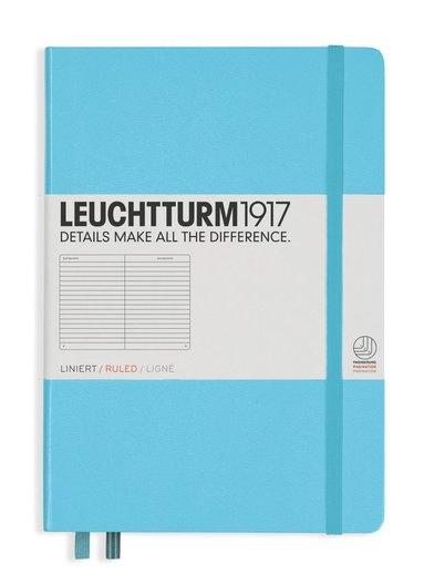 Anteckningsbok Leuchtturm1917 A5 linjerad isblå