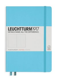 """Anteckningsbok A5 Leuchtturm1917 """"Bullet Journal"""" isblå"""