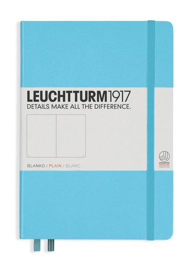 Anteckningsbok Leuchtturm1917 A5 olinjerad isblå
