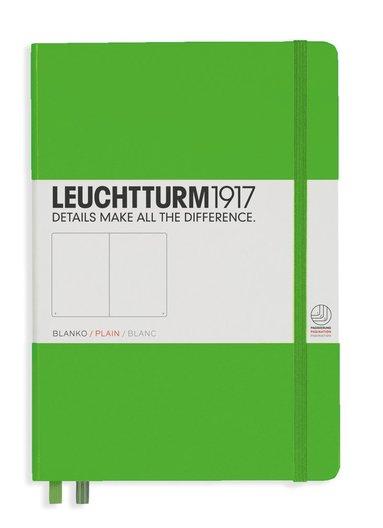Anteckningsbok Leuchtturm1917 A5 olinjerad grön