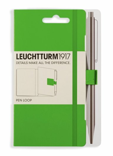 Pennhållare Leuchtturm1917 Pen Loop grön