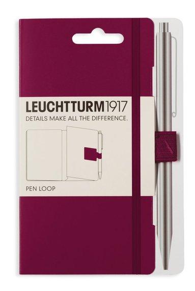 Pennhållare Leuchtturm1917 Pen Loop vinröd
