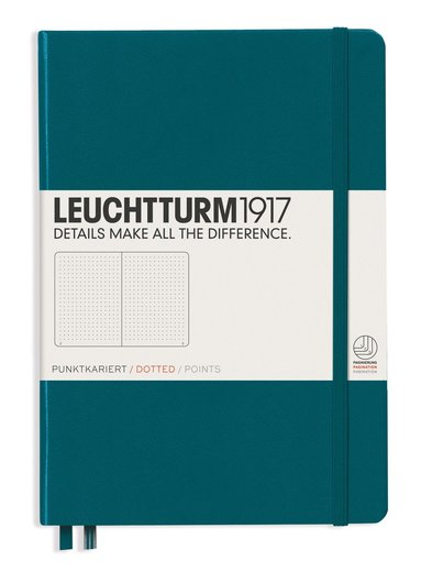 """Anteckningsbok A5 Leuchtturm1917 """"Bullet Journal"""" turkos 1"""