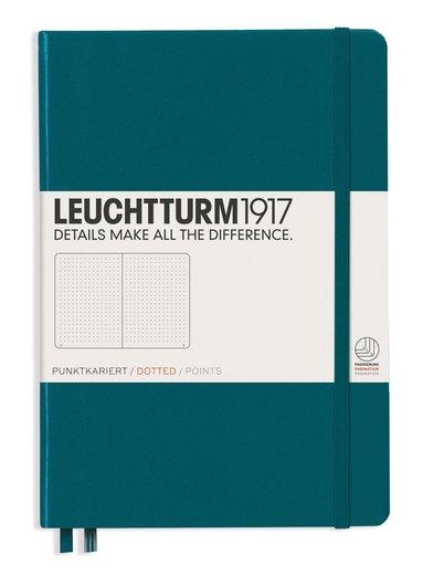 """Anteckningsbok Leuchtturm19171917 """"Bullet Journal"""" A5 turkos"""
