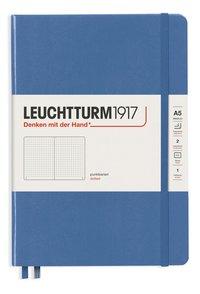 """Anteckningsbok Leuchtturm1917 """"Bullet Journal"""" A5 prickad denim"""