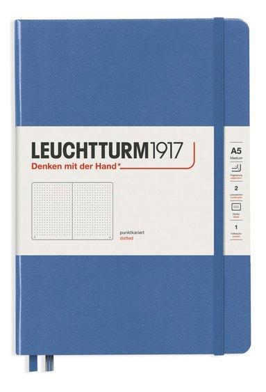 """Anteckningsbok A5 Leuchtturm1917 """"Bullet Journal"""" denim 1"""