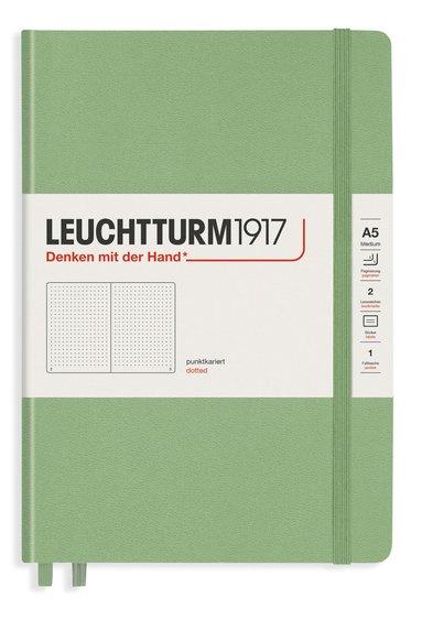 """Anteckningsbok Leuchtturm1917 """"Bullet Journal"""" A5 prickad sage 1"""