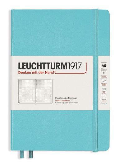 """Anteckningsbok A5 Leuchtturm1917 """"Bullet Journal"""" aquamarine 1"""
