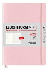 Kalender 2022 Leuchtturm1917 A5 vecka/notes mjuk rosa