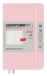 Kalender 2022 Leuchtturm1917 A6 vecka/notes mjuk rosa