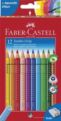 Färgpenna Faber-Castell Jumbo Grip 12 färger